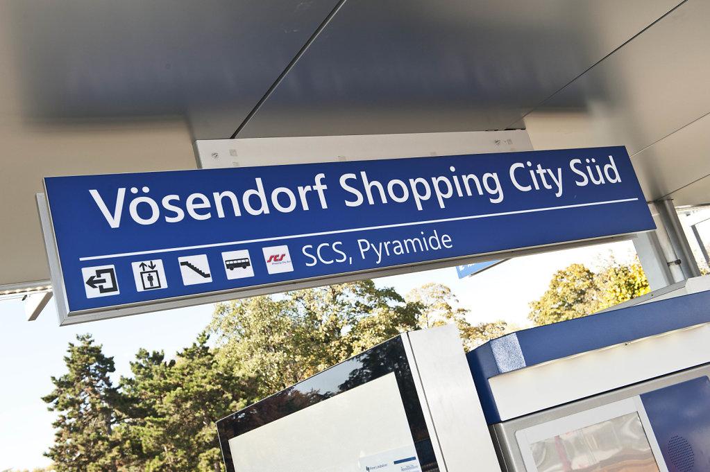Haltestelle Vösendorf SCS