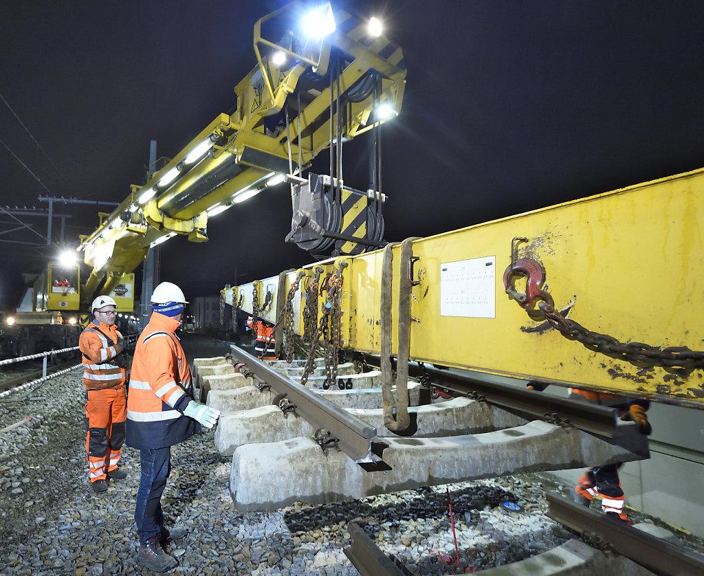 Modernisierung Gleisbau