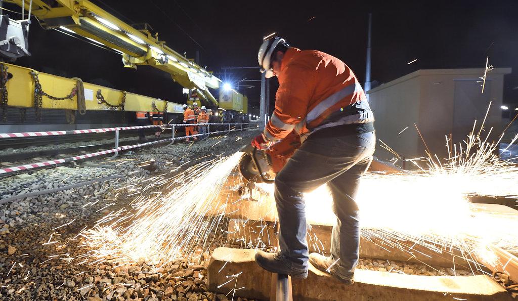 Imagebild Modernisierung Gleisbau
