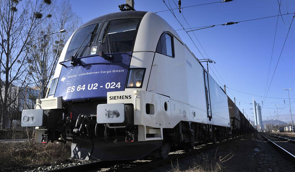 Lokomotive der WLB Cargo