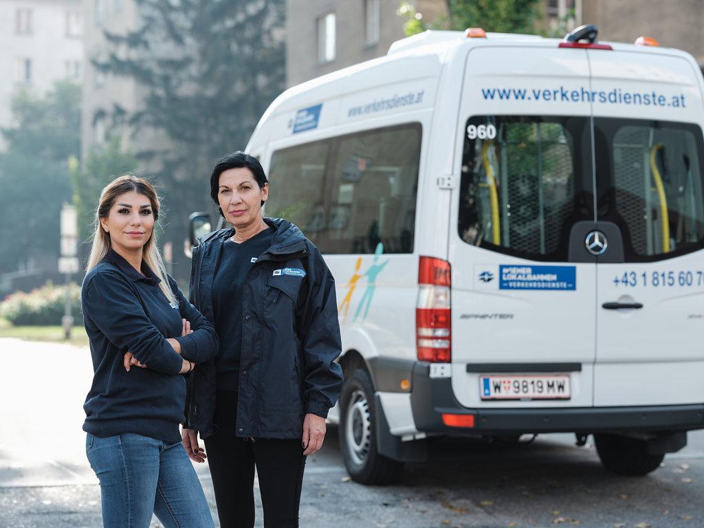 Mitarbeiterinnen WLB Verkehrsdienste