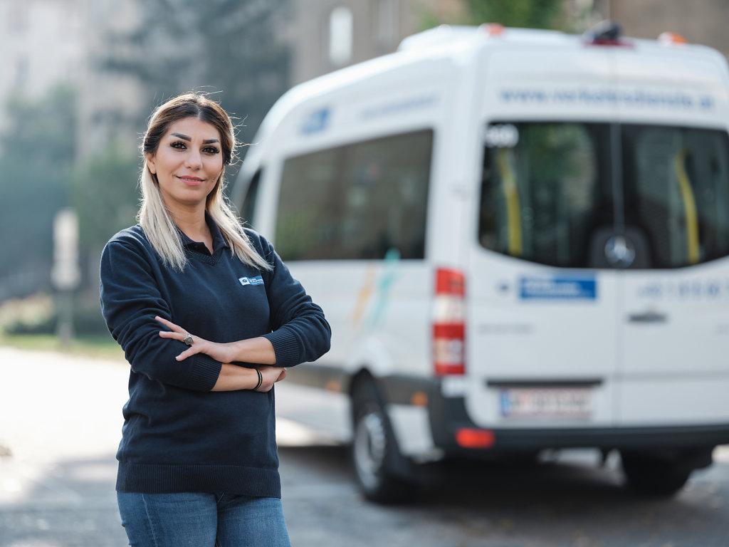 Mitarbeiterin WLB Verkehrsdienste