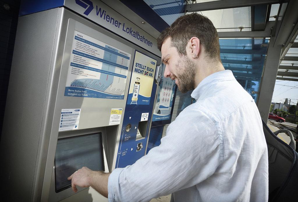 Ticketkauf Automat