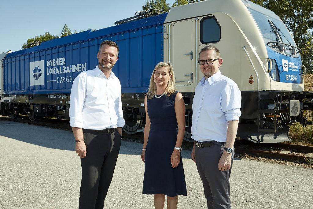 WLC übernimmt neue TRAXX-Lok