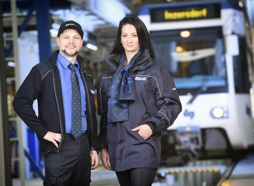 MitarbeiterInnen der Wiener Lokalbahnen