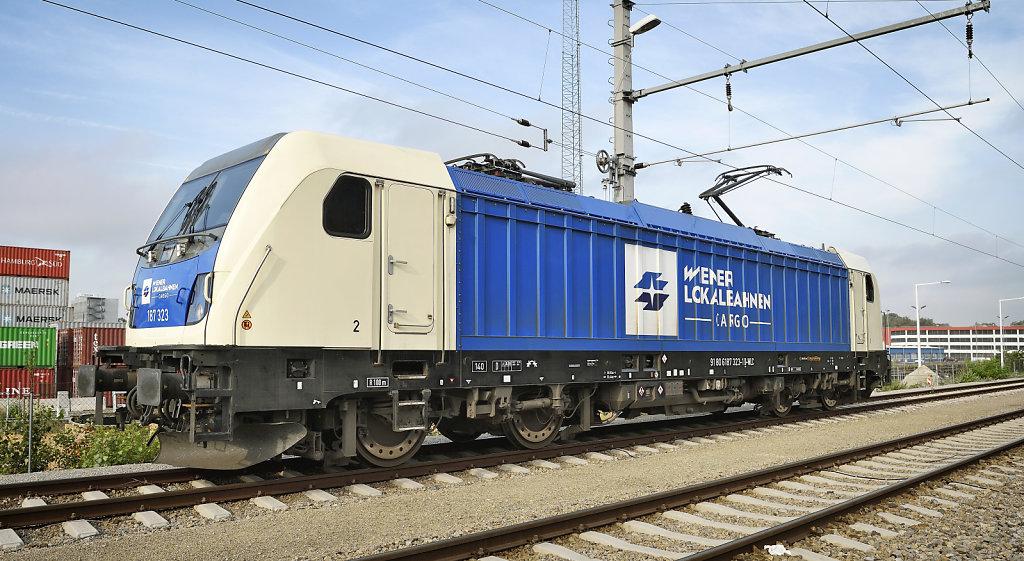WLC-Lok im Hafen Wien